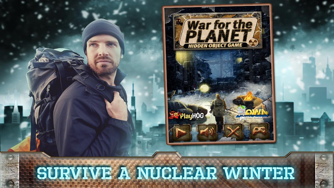 Hidden Object Games New Free War for the Planet- screenshot
