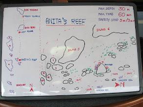 """Photo: #004-Le site de plongée """"Anita's Reef"""" dans les Iles Similan."""