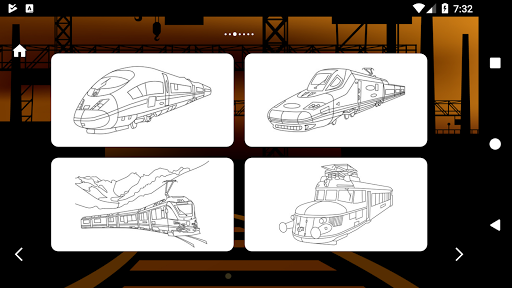 Trains Game Coloring Book 1.7 screenshots 6