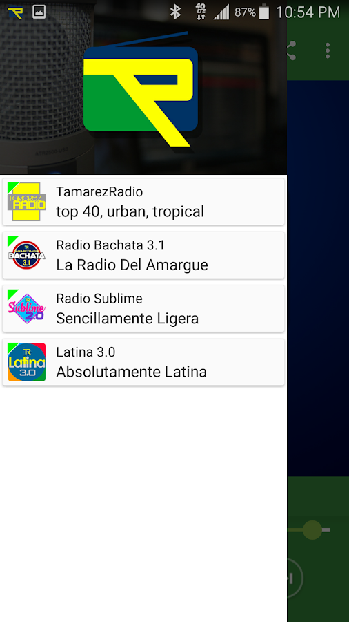 Tamarez Radio- screenshot