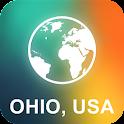 Ohio, USA Offline Map icon