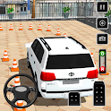 Prado parking Modern Car Parking: car games 2020 icon