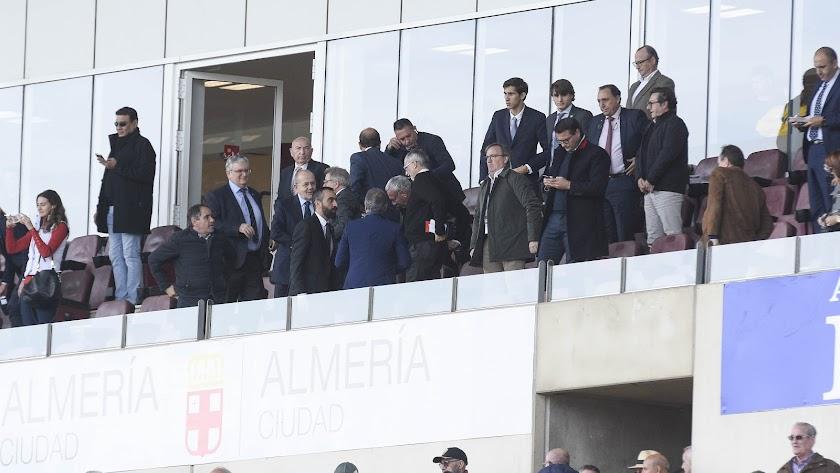 Almería y Ayuntamiento siguen hablando para cambiar la imagen del Estadio.