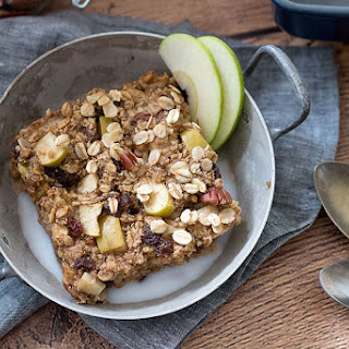 Apple & Cinnamon Baked Oatmeal With Natural Protein.