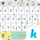 Charming Kika Keyboard Theme