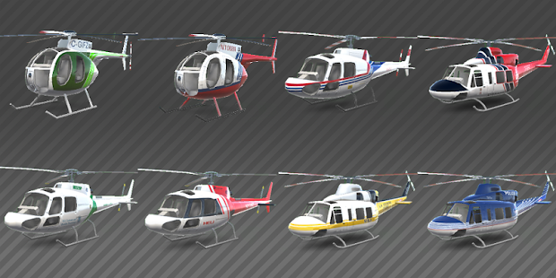 Helicopter simulator: Racer game- screenshot thumbnail