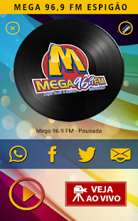 Rádio Mega 96 FM- screenshot thumbnail
