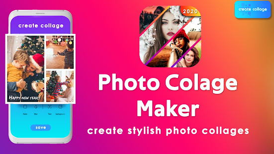 Download Photo Collage Maker 2020 - Photo Editor For PC Windows and Mac apk screenshot 1