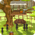 Wonder tree house icon