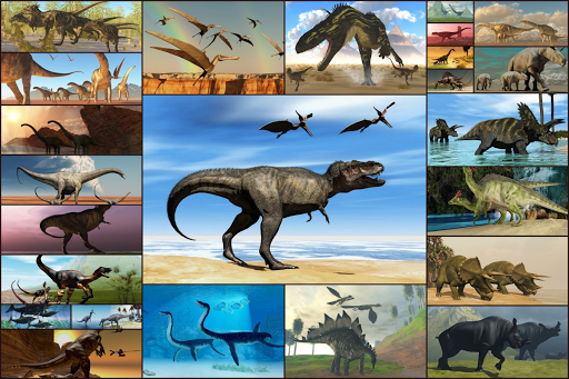 Dinosaurs Jigsaw Puzzles Game - Kids & Adults apktram screenshots 1