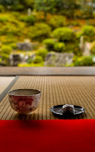 """Photo: This photo appeared in an article on my blog on Sep 3, 2013. この写真は9月3日ブログの記事に載りました。 """"Another """"Tea and Sweets in Front of a Temple Garden"""" Shot (or 10)"""" http://regex.info/blog/2013-09-03/2307"""