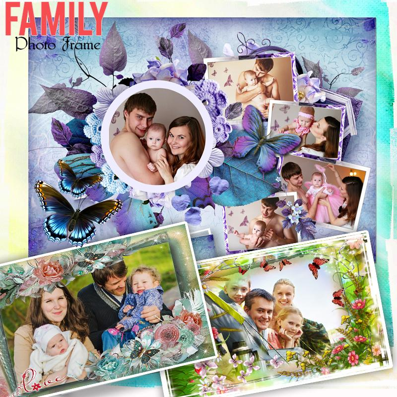 Family Photo Frames : Photo collage- screenshot
