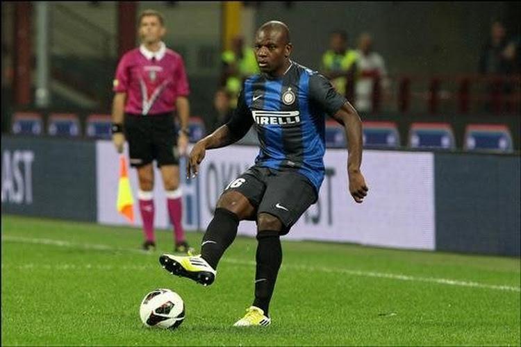 Voormalige Rode Duivel richting uitgang bij Internazionale