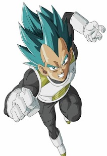 Vegeta Wallpaper Art HD 4K Offline - náhled