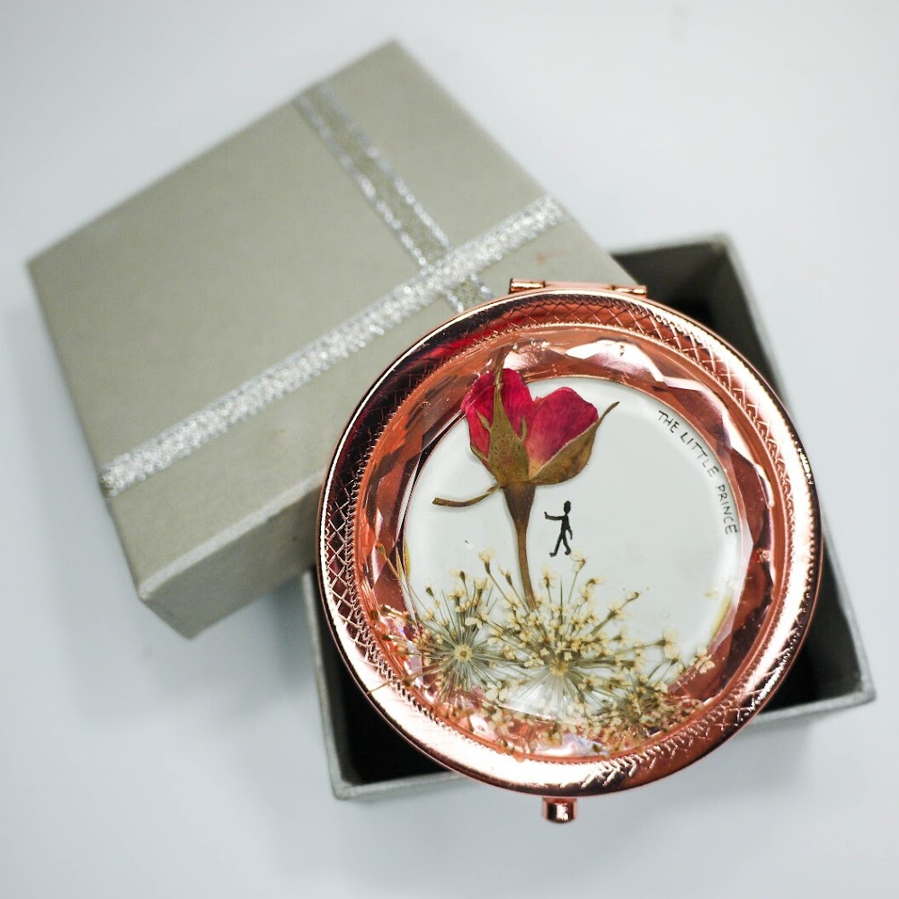 [現貨/stock] Pressed Flower Mirror
