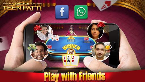 Teen Patti Comfun-3 Patti Flash Card Game Online screenshot 1