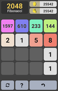 2048 Fibonacci- screenshot thumbnail