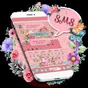 SMS Elegant Rose Keyboard