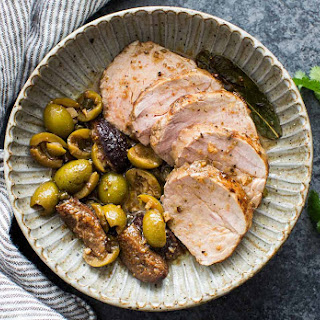 Pork Tenderloin with Figs and Olives Recipe