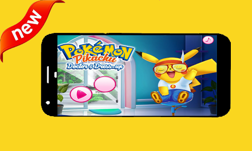 pikachu doctor and dress up 1.0 screenshots 7