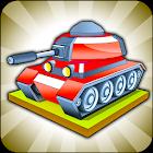 戦車をマージ - 最高のアイドルマージゲーム icon