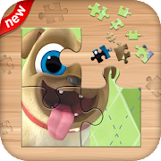 Puppy Jigsaw DogPlas Puzzle game