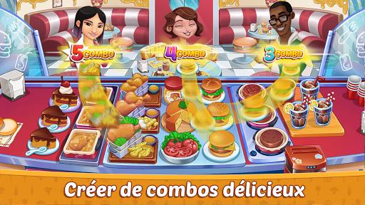 Code Triche Crazy Restaurant Chef - Jeux de Cuisine 2020 APK MOD screenshots 2