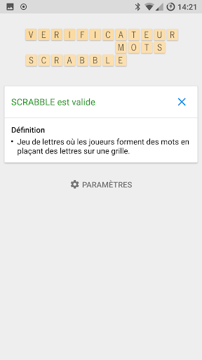 Verificateur Mots SCRABBLE 13.1.1 screenshots 1