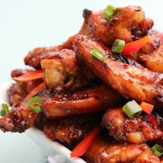Asian Sticky Wings.