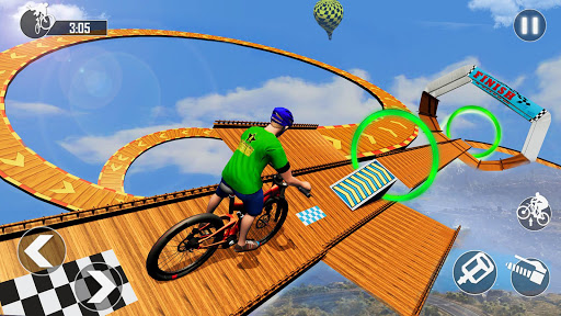 Mega Ramp BMX Bicycle Racing : Tricky Stunts 2020 filehippodl screenshot 7
