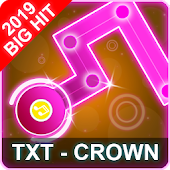 TXT Dancing Line: CROWN Song Dance Line Tiles Game Android APK Download Free By TPGAMING