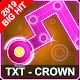TXT Dancing Line: CROWN Song Dance Line Tiles Game APK