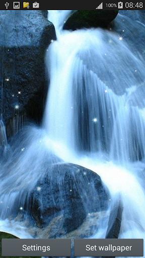 瀑布 的動態壁紙