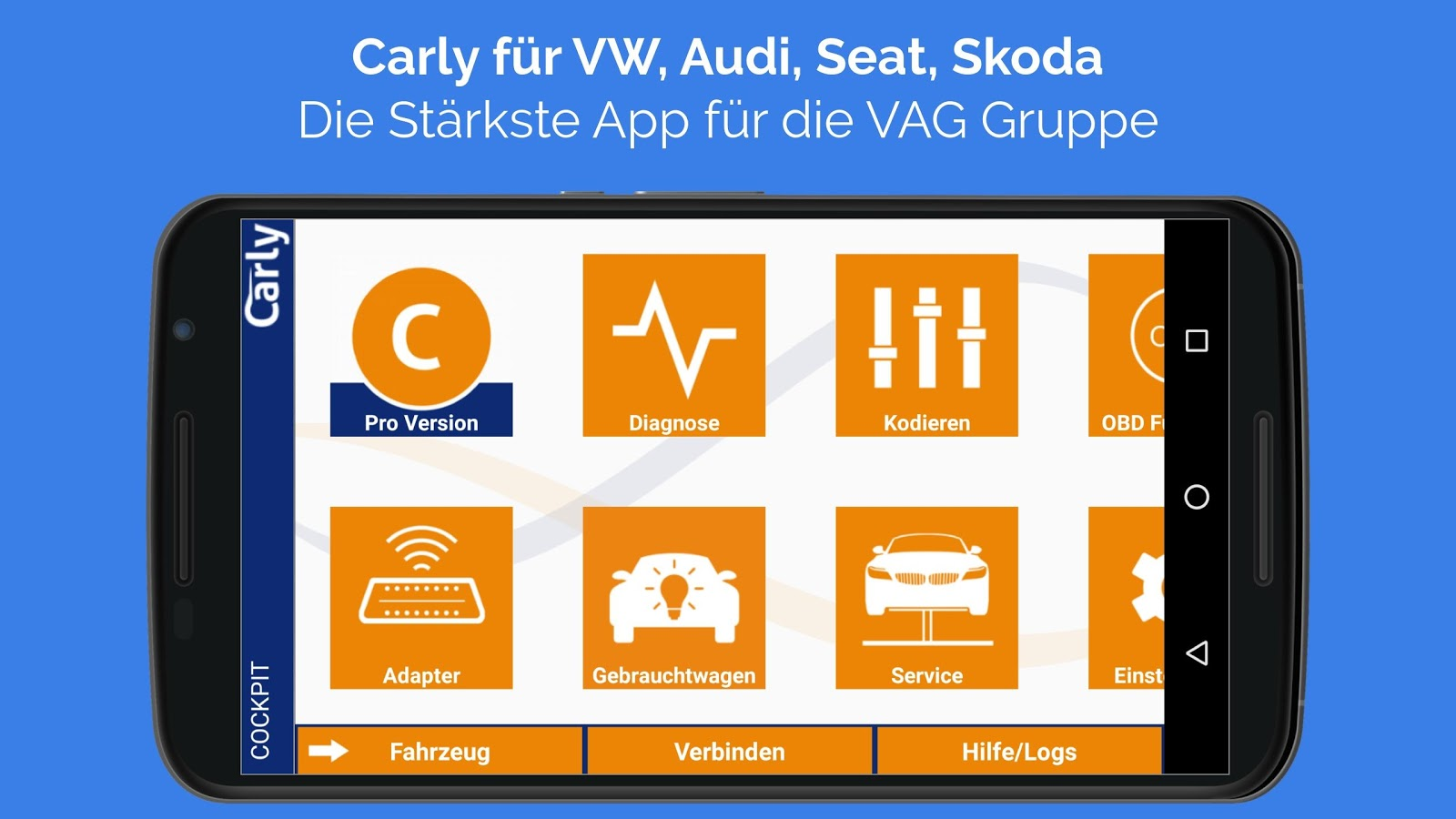 Carly für VAG – Screenshot