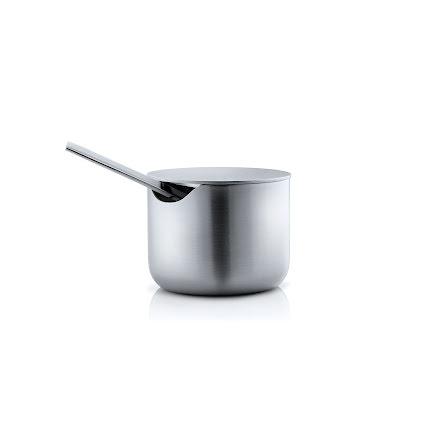 BASIC, Sockerskål 100 ml, Rostfritt stål