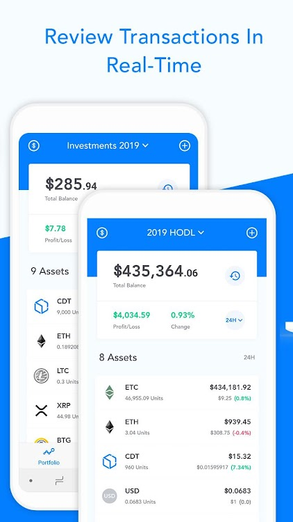 Blox – Crypto Tracking, Management & Accounting – (Android
