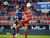 Dimitri Mohamed, le capitaine de Mouscron était déçu après le partage à Zulte Waregem (2-2)