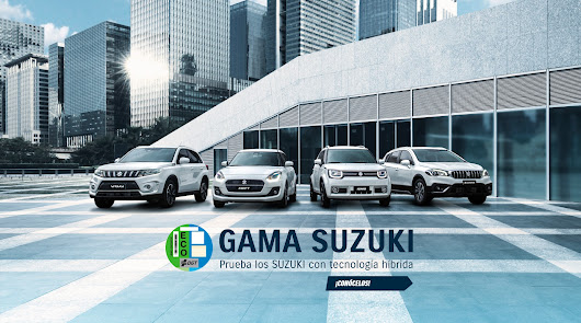 Llévate la gama Híbrida de Suzuki y no pagues hasta 2021