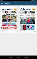Screenshot of Agderposten eAvis
