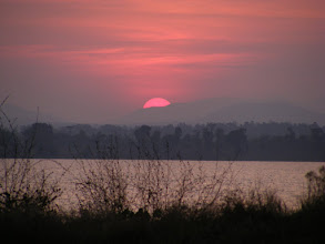 Photo: Sunset over Kabini