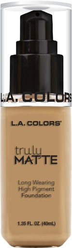 Bases La Colors Truly Matte 355 Medium Beige