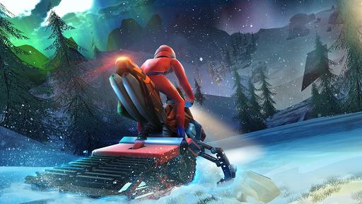 Snow Bike Hill Racing Game 1.2 screenshots 1