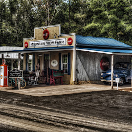 Mountain View Farm by Jeremy Yoho - Buildings & Architecture Public & Historical ( gas station, old fashioned, nostalgia, nostalgic, rustic, classic )