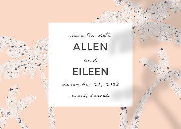 Allan & Eileen's Wedding - Wedding Invitation template