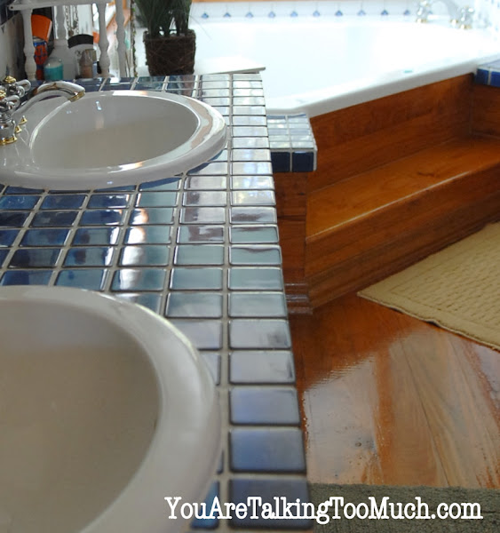Photo: http://youaretalkingtoomuch.com/2012/10/quick-and-easy-way-to-make-ceramic-tile-and-hardwood-sparkle-and-shine/