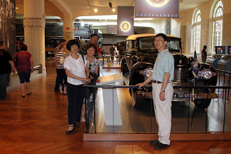 Photo: Hosted 2012 Teachers training. Edication professional from China touring Henry Ford Museum after the training.