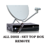 ALL Dish-DTH SetTop Box Remote