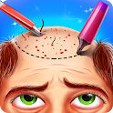 Hair Transplant Surgery Hospital Doctor Games icon