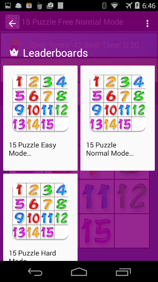15 Puzzle Pro- screenshot