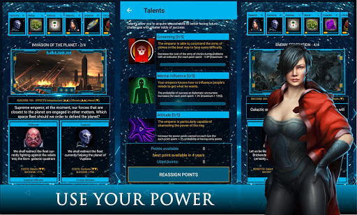 Dictator Games: Galactic Emperor (Space RPG)  screenshots 1